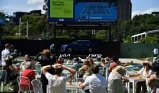 """بطولة أستراليا المفتوحة: إغلاق لخمسة أيام و""""فقاعة"""" دون جماهير"""
