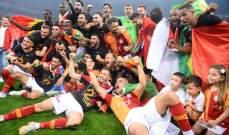 أردوغان يهنّئ غلطة سراي بلقب الدوري التركي