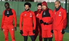ليفربول يستعد لمانشستر يونايتد بإستعادة المصابين