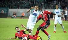 كاس زايد للأندية الابطال: نتيجة ايجابية للسلام في المغرب وتأهل الهلال والنصر