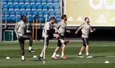 ريال مدريد يعود للتدريبات الجماعية