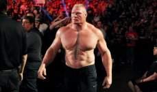 تحديد موعد عودة ليسنر إلى المصارعة