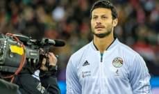 حارس مرمى الاهلي المصري مهدد بالغياب عن لقاء كمبالا
