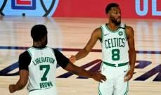 NBA: مباراة واحدة تفصل بوسطن عن نصف النهائي الشرقي