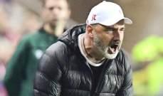 مدرب سلافيا براغ يشيد بلاعبيه رغم الخسارة امام برشلونة