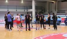 خاص: مشاهدات من تدريبات المنتخب اللبناني لكرة السلة