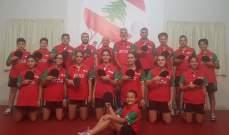 بعثة كرة الطاولة الى البطولة العربية