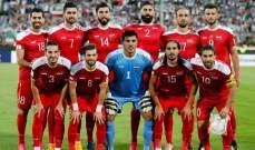 قائد سوريا احمد الصالح: الكرة الأخيرة لأستراليا قضت على أحلامنا