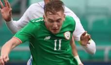 إضافة رونان كورتيس إلى تشكيلة المنتخب الايرلندي