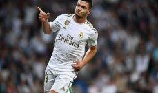 يوفيتش: سأحاول اثبات نفسي في ريال مدريد