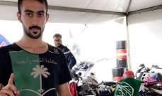 وفاة الدراج السعودي رياض الشمري في حادث في رالي الشرقية الدولي