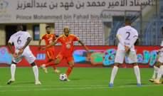 الدوري السعودي: التعادل سيد الموقف بين العين والقادسية