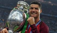 رونالدو أفضل لاعب أوروبي في العقد الأخير