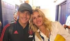 الكسيس سانشيز وجوليا روبرتس في صورة معاً