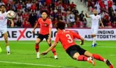 كوريا الجنوبية تنجو من فخ البحرين وتكمل مسيرتها في بطولة اسيا