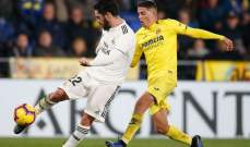 ثنائية كازورلا تقود ريال مدريد لتعادل مرير امام فياريال