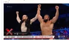 خطأ في الموقع الرسمي للمصارعة الحرة الترفيهية