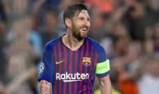 ميسي قد يغادر برشلونة في عام 2020 مجانا