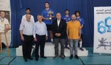 مون لا سال يسيطر على القاب بطولات لبنان في المبارزة