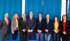 زياد الشويري ترأس اجتماعات المكتب التنفيذي  لاتحاد دول المتوسط للمبارزة بموناكو