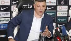 رسمياً: ميلوسيفيتش مدرباً لـ بارتيزان بلغراد