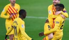 نصف أهداف البا صنعها ميسي وإحصاءات أخرى من مباراة برشلونة واوساسونا