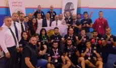 بطولة جبل لبنان للكونغ فو–اسلوب القتال الحر اللقب للشبيبة وأمن الدولة وصيفه والمركزية ثالثة