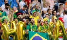 انطلاق مباراة البرازيل وسويسرا في المجموعة الخامسة