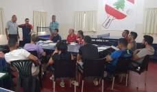 الاتحاد اللبناني لكرة الطاولة أنهى دورة اعداد مدربين
