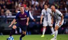 ميلو سعيد لوجوده في برشلونة ويؤكد تأثير غياب ميسي على الفريق