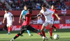 الدوري الاسباني: اشبيلية يعود لسكة الانتصارات من بوابة مايوركا