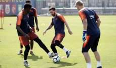 برشلونة يعود للتدريبات استعداداً لمواجهة لاكورونيا