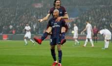 باريس سان جيرمان يواصل انتصاراته وصراع محتدم بين موناكو وليون