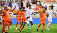 الدوري الاماراتي: العين يكتسح عجمان برباعية وفوز صعب للجزيرة