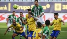 ريال بيتيس يحقق ثلاث نقاط مهمّة أمام قادش