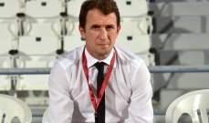 الريان القطري يقبل استقالة المدرب أروابارينا