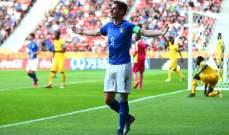 إيطاليا تفقد عنصرا مهما في كأس أوروبا تحت 21 سنة