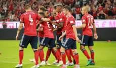 بايرن ميونيخ يتخطى مانشستر يونايتد دون معاناة