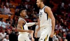 NBA: سقوط مذل للسبيرز امام يوتا وفينيكس يتلقى الخسارة السادسة المتتالية