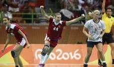 روسيا تواجه فرنسا في نهائي كرة اليد للسيدات