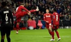 ليفربول يتصدر المجموعة أمام نابولي وسالزبورغ إلى الدوري الأوروبي