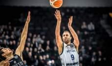 دوري ابطال اوروبا لكرة السلة : خسارتين للفرق الايطالية