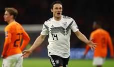 المانيا تحسم قمتها امام هولندا في الوقت القانل وفوز بلجيكا وبولندا