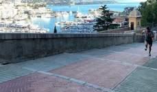 فرستابن يصعد تلال إمارة موناكو