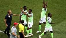مدرب نيجيريا : استحقينا الفوز على ايسلندا