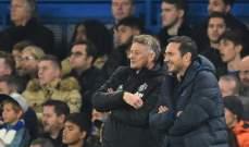 لامبارد: مانشستر يونايتد متقدمون بأميال في أوروبا بسبب ركلات الجزاء