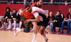 طوكيو 2020: مصر تتخطى البرتغال في مسابقة كرة اليد