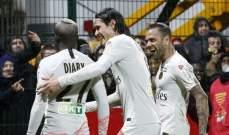 كأس الرابطة الفرنسية: الـ بي أس جي يعبر بصعوبة بفوزه امام اورليانز