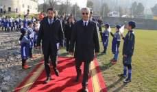 رئيس اتحاد آسيا يلتقي برئيس قيرغيزستان