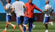 مدرب روسيا : نحن جاهزون لمواجهة المنتخب المصري